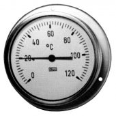 100MM DIAL THERMOMETER 0-120°C 611 000 120