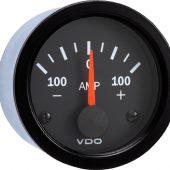 VDO INTERNAL SHUNT AMMETER 100-0-100AMP 190037003