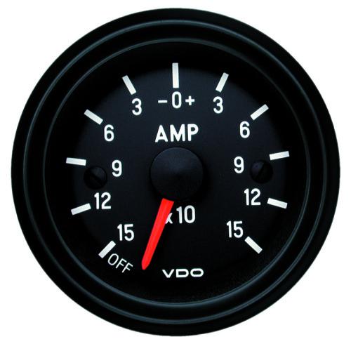 VDO EXTERNAL SHUNT AMMETER 150-0-150AMP 190.505