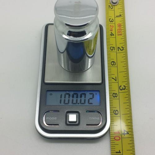ULTRA MINI POCKET SCALES 100GX0.01G