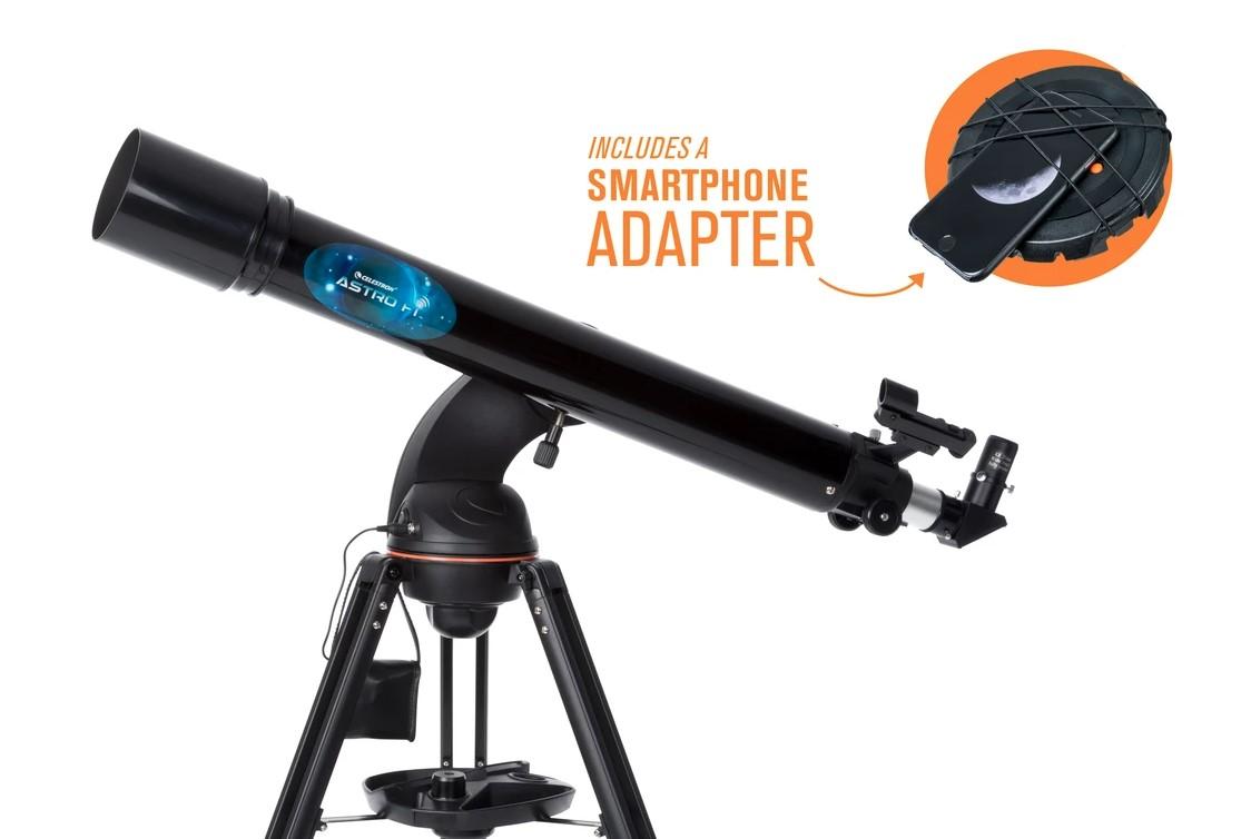 CELESTRON ASTRO FI 90mm WiFi Refractor Telescope