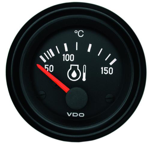 VDO ENGINE OIL TEMPERATURE GAUGE 50-150°C 310030003