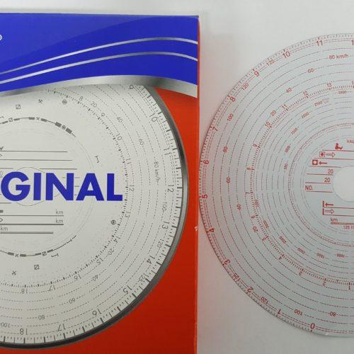 TACHOGRAPH CHARTS SUIT KIENZLE TACHOGRAPH 26 HR 125 km/h 3300RPM PN: 125 118