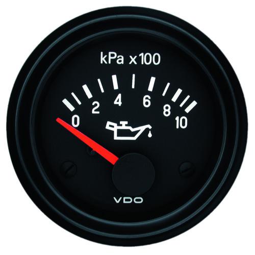 VDO ENGINE OIL PRESSURE GAUGE 0-1000KPA 350030017