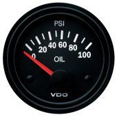 VDO ELECTRICAL OIL PRESSURE GAUGE 0-100PSI 350010021