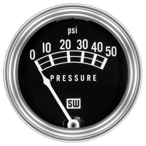 STEWART WARNER OIL PRESSURE GAUGE 82207