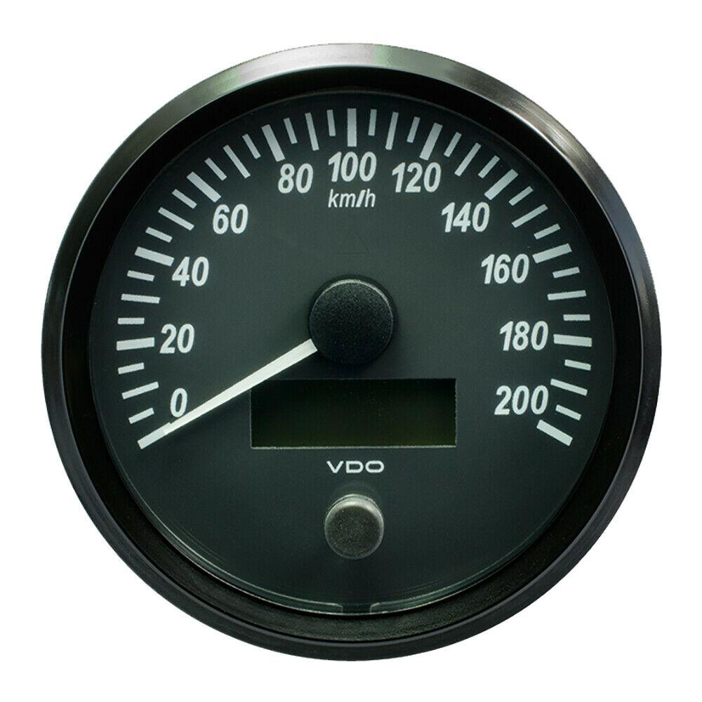 VDO SingleViu SPEEDOMETER 0-200KM/H 85mm A2C3832940030