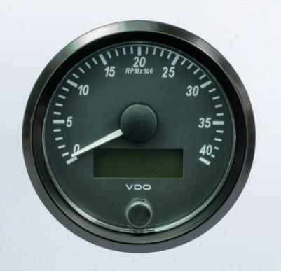 VDO SingleViu TACHOURMETER 4000RPM A2C3832990030