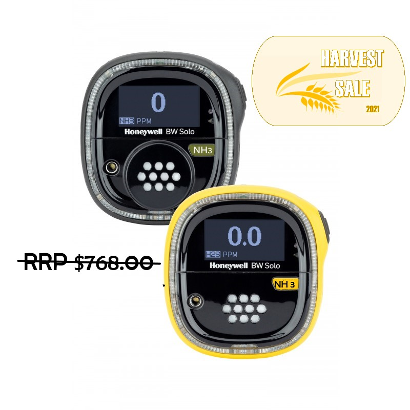 GAS Detector BW Solo (NH3) Standard – Yellow BWS-A-Y