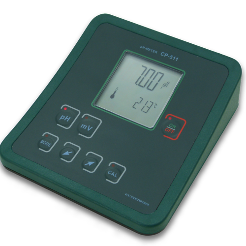 BENCH TOP PH/MV METER WITH TEMP SENSOR CP-511 PACKAGE