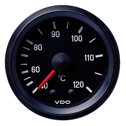 VDO TEMPERATURE GAUGE 40-120°C 180035002