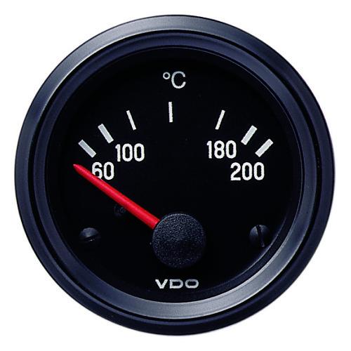 VDO TRANSMISSION OIL TEMPERATURE GAUGE 60-200°C 310030004