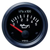 VDO ENGINE OIL PRESSURE GAUGE 0-500KPA 350030016