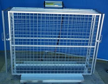 CHR 592 ELECTRONIC PLATFORM SCALE 300KGX100G