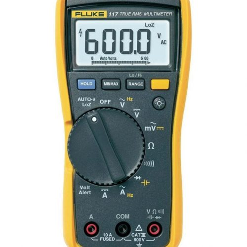 FLUKE 117 DIGITAL MULTIMETER WITH NON CONTACT VOLTAGE