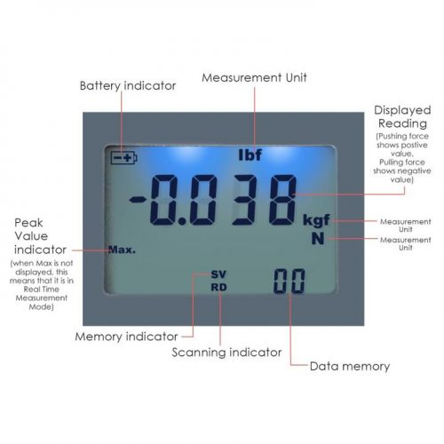 Digital Force Gauge FM-207