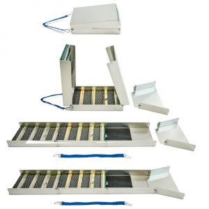 BJK Aluminum Folding Sluice Box