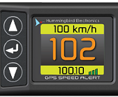 HMSA4000 GPS SPEED ALERT WITH ODOMETER