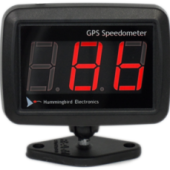 DIGITAL GPS SPEEDOMETER, BULKHEAD MOUNT ANTENNA HMSS1000BB