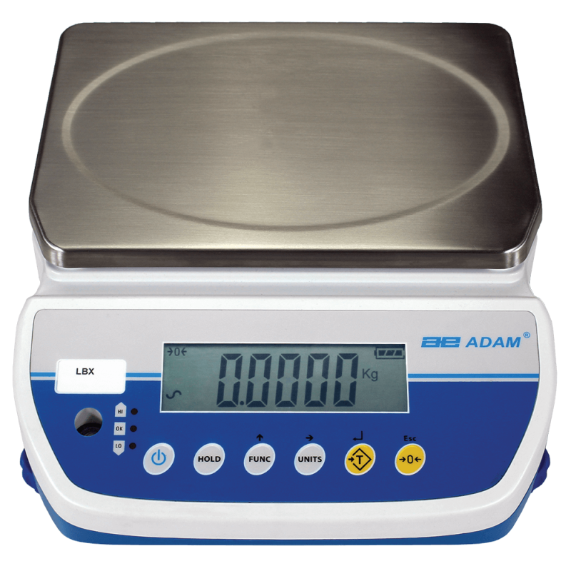 ADAM EQUIPMENT LBX 3 BENCH SCALES 3KG x 0.5G