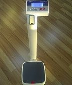 LOG 909 MEDICAL SCALE WITH HEIGHT ROD 250KGX100G