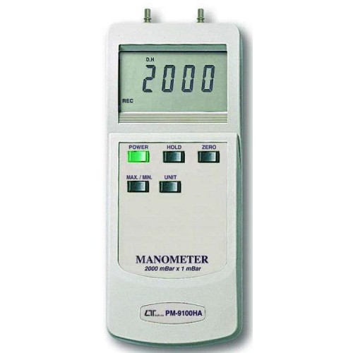 MANOMETER 200MBAR DIFFERENTIAL PRESSURE UNIT PM 9100HA