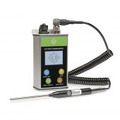 GLA M950 Series Thermometer with Probe and Charger