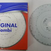 TACHOGRAPH CHARTS SPEED ONLY 1 DAY PN: 125 800