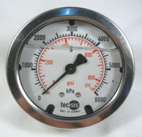 MODEL P1453 PRESSURE GAUGE 0..250KPA / 36PSI