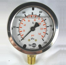 MODEL 1454 PRESSURE GAUGE 0..100KPA / 14.5PSI