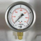MODEL P1178 PRESSURE GAUGE 0..100KPA / 14.5PSI