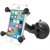 RAM TWIST LOCK SUCTION CUP MOUNT WITH UNIVERSAL X-GRIP PHONE HOLDER RAM-B-166-UN7U
