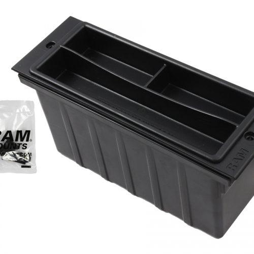 RAM 3″ WIDE ACCESSORY POCKET W/ TRAY RAM-FP3-AP