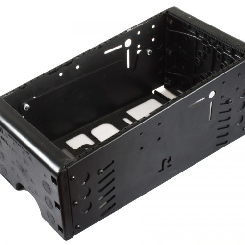 RAM 17″ TOUGH-BOX™ CONSOLE WITH TOTAL FACEPLATE AREA OF 15″. (IE. COMBINATIONS OF FACEPLATE HEIGHTS THAT ADD TO 15″) RAM-VC-17