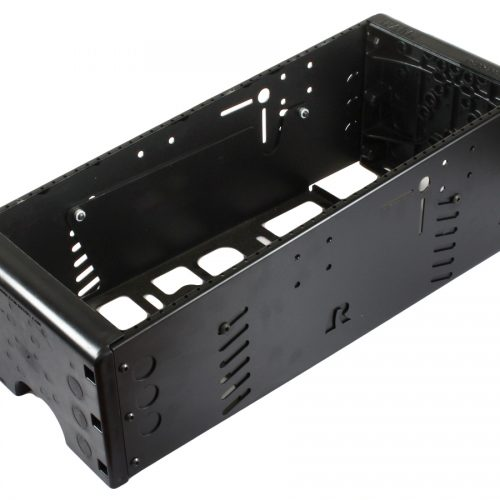 RAM 21″ TOUGH-BOX™ CONSOLE WITH TOTAL FACEPLATE AREA OF 19″. (IE. COMBINATIONS OF FACEPLATE HEIGHTS THAT ADD TO 19″) RAM-VC-21