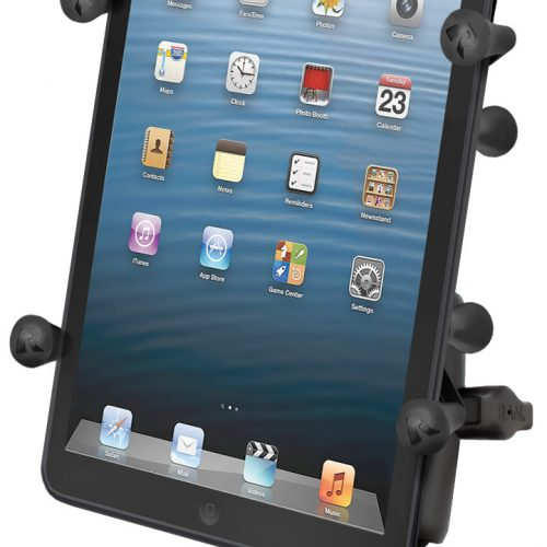 RAM-B-149Z-UN8U RAM HANDLEBAR RAIL MOUNT AND X-GRIP™ II HOLDER FOR SMALL TABLETS