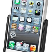 RAM MODEL SPECIFIC CRADLE FOR THE APPLE IPHONE 5 & IPHONE 5S WITHOUT CASE, SKIN OR SLEEVE RAM-HOL-AP11U
