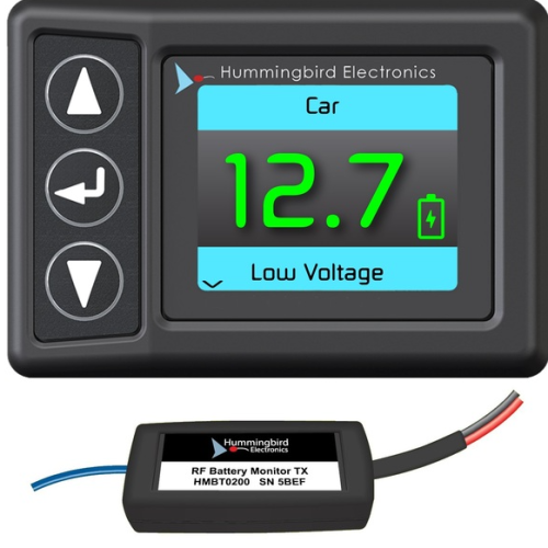 RF BATTERY MONITOR WITH RECEIVER HMRF2000
