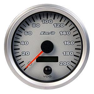 VDO COCKPIT TITANIUM 0-200KM/H SPEEDOMETER 437.900