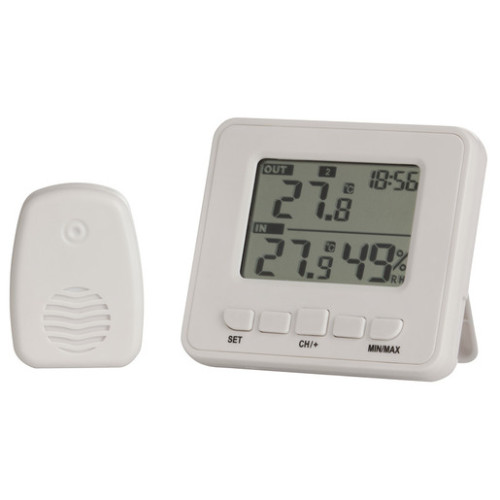 WIRELESS IN & OUT THERMOMETER/HYGROMETER XC0322