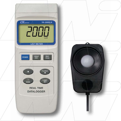 YK 2005LX LIGHT METER REAL TIME DATA LOGGER