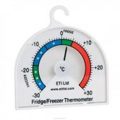 FRIDGE/FREEZER THERMOMETER -30 TO 30°C