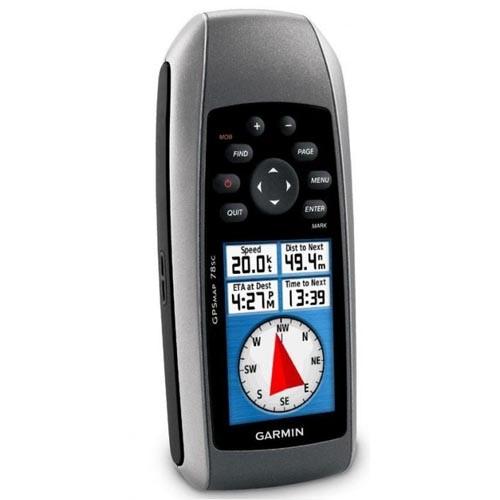 GARMIN GPSMAP 78SC (WORLDWIDE BASEMAP, AUS/NZ CHARTS)
