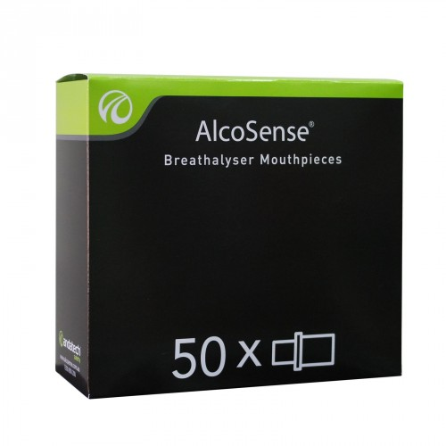 MOUTHPIECES FOR ALCOSENSE PERSONAL BREATHALYSERS BOX 50