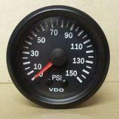 VDO MECHANICAL PRESSURE GAUGE 0-150PSI 150077026