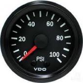 VDO MECHANICAL PRESSURE GAUGE 0-100 PSI 150077027